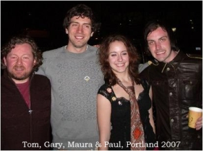 Tom, Gary, Maura & Paul