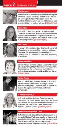TEDxStormont programme 2b