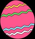 pink-zig-zag-easter-egg