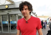 Gary Lightbody (Snow Patrol)... Exclusive: Arthur's Day 2010 artists, bands and guests arrive at Dublin airport the day before the big celebration, Dublin, Ireland - 22.09.10. Pictures: VIPIRELAND.COM *** Local Caption *** Gary Lightbody (Snow Patrol)
