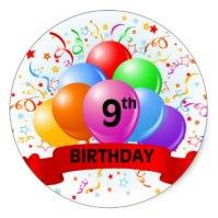 Happy 9th Birthday To Us TheThirdBar